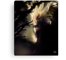 Darkest light 1 [Digital Figure Illustration] Canvas Print