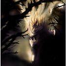 Darkest light 1 [Digital Figure Illustration] by Grant Wilson