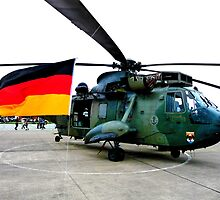 German Air-Sea Rescue Helicopter by foggy68