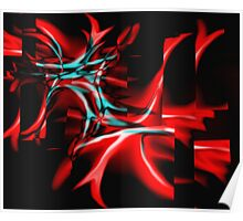Red fragility Poster