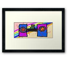 The Speakers Framed Print