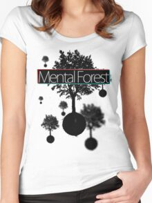 Free Floating Trees Women's Fitted Scoop T-Shirt