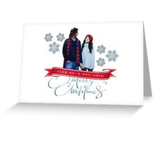 Merry Christmas from the Golds! Greeting Card