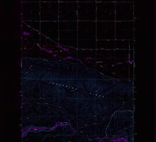 USGS Topo Map Washington State WA Toppenish SW 244314 1958 24000 Inverted by wetdryvac