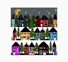 WINTERS NIGHT IN SMALL VILLAGE T-Shirt