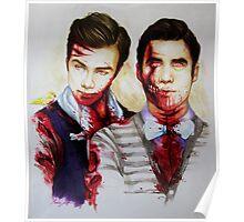 zombie!klaine Poster