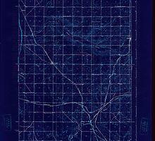 USGS Topo Map Washington State WA Wheeler 244635 1925 62500 Inverted by wetdryvac