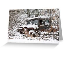 My Dad's Jeep 2 Greeting Card