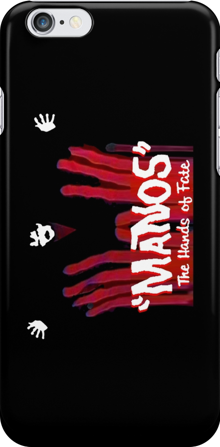 Manos!  The Hands of Fate phone case by Margaret Bryant