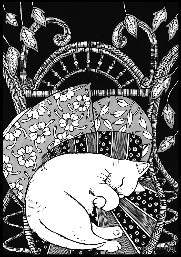 Sleeping Softly by Anita Inverarity