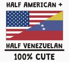Half Venezuelan 100% Cute Kids Tee