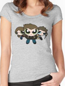 Team Free Will Women's Fitted Scoop T-Shirt