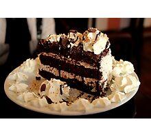 Ferrero Rocher Cake Photographic Print