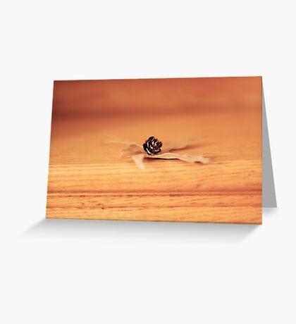 winter fibres Greeting Card