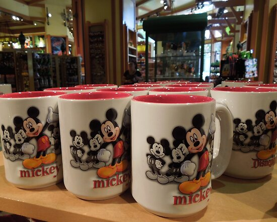 Mickey Mouse Mugs...... by DonnaMoore