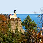 Split Rock Lighthouse - North Shore of Lake Superior by kkmarais