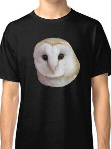 Curious Barn Owl  Classic T-Shirt