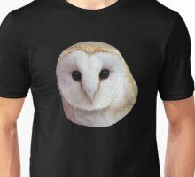 Curious Barn Owl  Unisex T-Shirt
