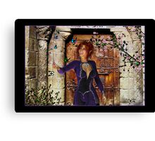 Rhona (Butterfly Girl) Canvas Print
