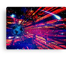 A Last stand for humanity Canvas Print