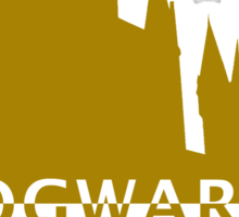 Hogwarts Will Always Be There To Welcome You Home (Gryffindor Gold) Sticker