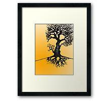 The Biro Tree Framed Print