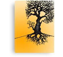 The Biro Tree Canvas Print