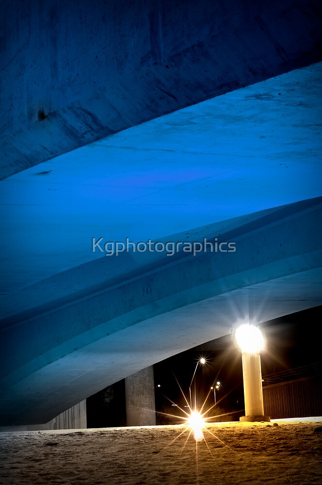 Crossways at Night by Kgphotographics