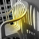Plastic chair one afternoon  by Janet GATHIER-COOMBER