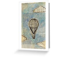 Drifting Slowly Greeting Card