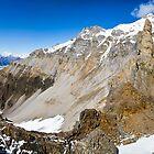 Alaskan Mountains by Walter Quirtmair