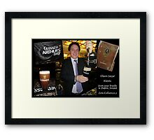 CHEERS FAZZA!   -  SOLD 26 APRIL 2012 - (Not Sold Out!) Framed Print