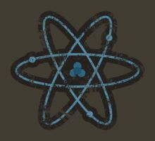 Distress Blue atom by HighDesign