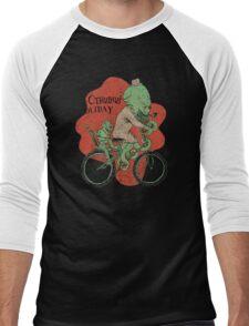 Mr. Cthulhu's Holiday Men's Baseball ¾ T-Shirt