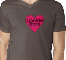 Cookie Bitch black on pink Mens V-Neck T-Shirt