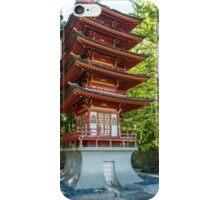 Pagoda, Japanese Tea Garden iPhone Case/Skin