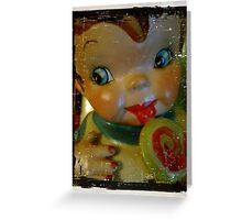 Old Time Cookie Jar Greeting Card