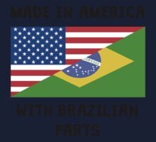 Made In American With Brazilian Parts One Piece - Short Sleeve