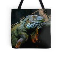 Sleepy Dinosaur Tote Bag