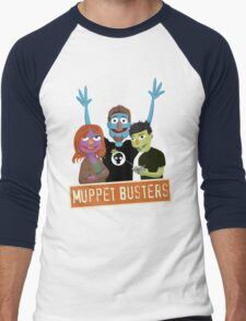 Muppet Busters Build Team Men's Baseball ¾ T-Shirt