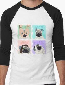 Pug Direction Men's Baseball ¾ T-Shirt