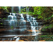 Tiers of Junction Falls Photographic Print