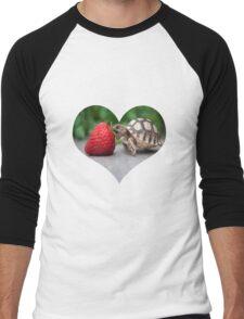 A Turtle Love Affair Men's Baseball ¾ T-Shirt