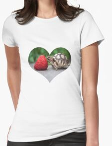 A Turtle Love Affair Womens Fitted T-Shirt