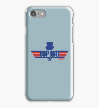 Top Hat (Star-Burns) iPhone Case/Skin
