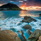 Mauao Dusk by Ken Wright