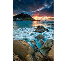 Mauao Dusk Photographic Print
