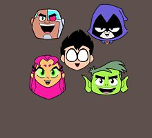 Teen Titans Faces Unisex T-Shirt