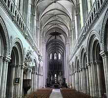 The Bayeux Cathedral (2) by Larry Lingard-Davis