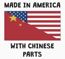 Made In American With Chinese Parts Kids Tee